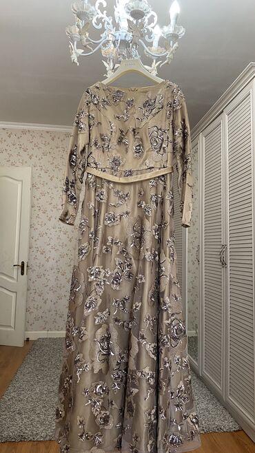вечернее платье 48 50 размер в Кыргызстан: Продается платье Носили только 1 раз Очень красивое, ткань приятно лож