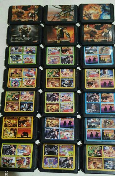 sega oyun kasetleri - Azərbaycan: Sega oyun kasetleri.Tezedi
