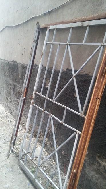 Решётка дверь двустворчатая высота 185 см ширина 135 см в Бишкек