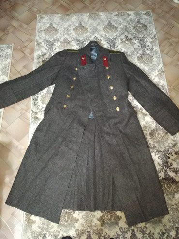 Шинель офицерский. почти новое 44-46 размер.произ.СССР. в Бишкек