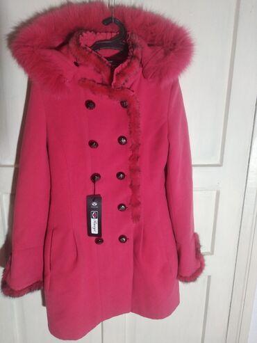 Пальто - Сокулук: Пальто с капюшоном новая женская Размер 44