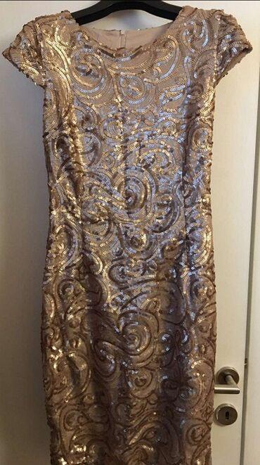 Prelepa Tifany haljina 36 Prelepa Tifany haljina 36,boja starog zlata