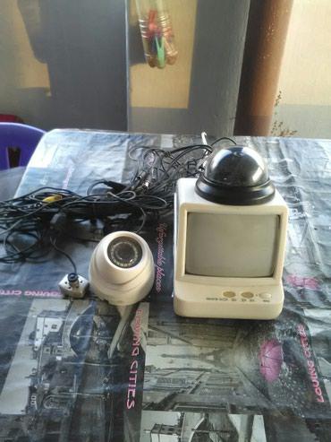 Video nadzor, u kompletu idu tri kamerice i manji televizor. Za