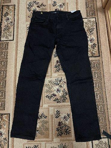 черные брюки мужские в Кыргызстан: Мужские брюки M