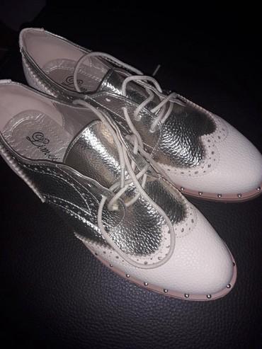 Oksfordice | Srbija: Nove cipele par puta nosene stebro krem br 38 bez ijednog ostecenja
