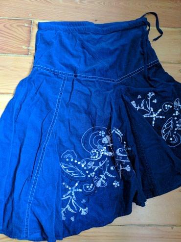стильную джинсовую юбку в Кыргызстан: Продаю новую юбку