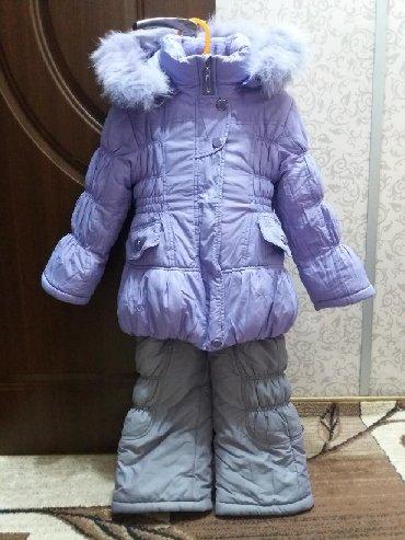 Комбез и куртка. Размеры на 5 - 6 лет. В отличном состоянии. Теплые