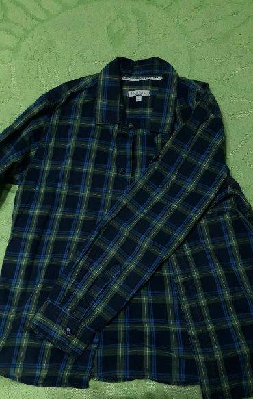 Рубашка в клетку100% хлопокСостояние 10/10Ни разу не носился.Писать в