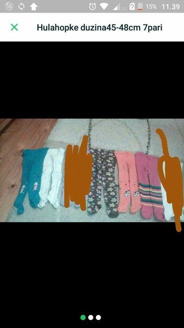 Dečija odeća i obuća | Pancevo: Hulahopke 5 pari duzina 45-48cm