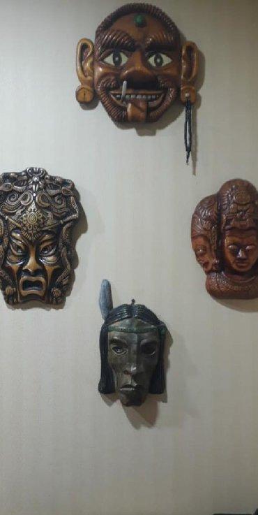 Другие предметы коллекционирования - Азербайджан: Маски.Цена договорная