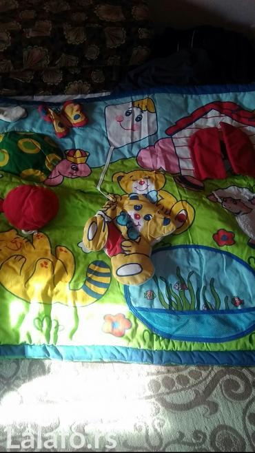 Ciko prostirka za vase dete za pokrivanje igranje edukativna sa puno - Loznica
