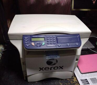 МФУ 3в 1 принтер, сканер, ксерокс. Лазерный чёрно-белый. Xerox