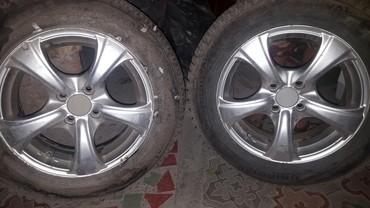 диски на авто в Кыргызстан: Щины с дисками диски подойдут на японских авто. размер 15. 4штук