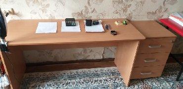 Рабочий стол и тумба новое 4500с в Бишкек