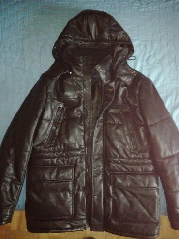 Muška odeća | Kragujevac: Muška jakna,zara,l veličina,sa kapuljačom