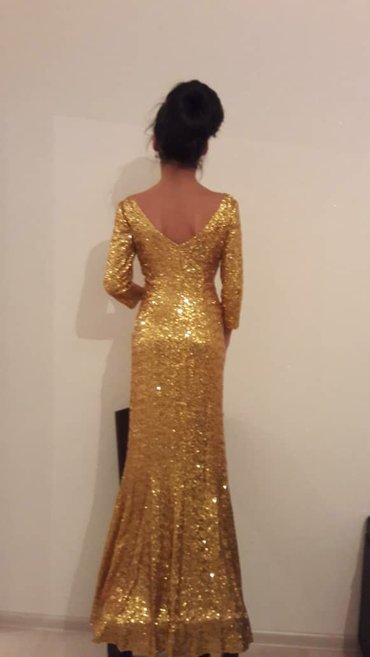 Продаю вечернее платье. Золото с в Бишкек