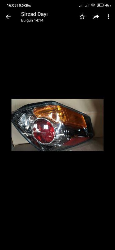 Nissan Altima 2008-2011 arxa stoplari