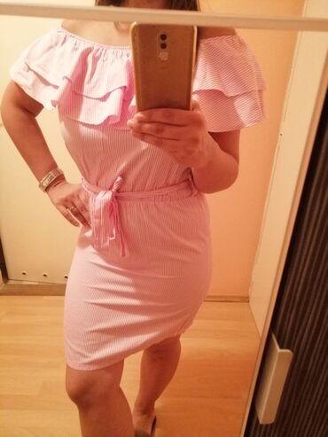 Prelepa haljina letnja pamuk 100% nova skroz