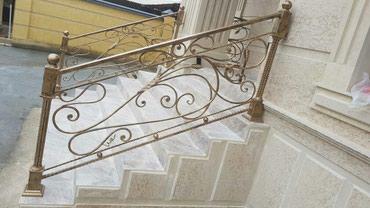 Кованные перилла украсит вход вашего дома! в Бишкек