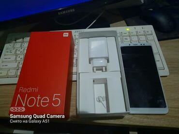 Электроника - Бишкек: Xiaomi Redmi Note 5 | 64 ГБ | Золотой | Гарантия, Сенсорный, Отпечаток пальца