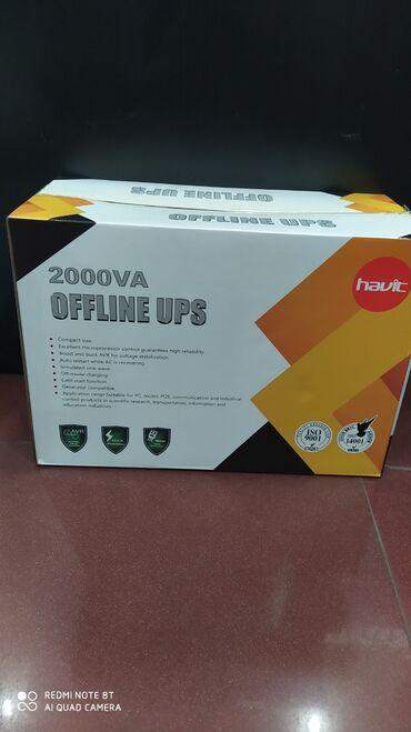 yuva - Azərbaycan: Havit 2000W UPSHavit 2000W Offline UPS 4 power yuva var650W - 60