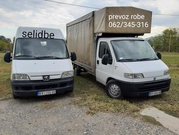 Auto services - Srbija: Kombi prevoz robe i selidbe u zemlji i inostranstvu.Tovarni prostor