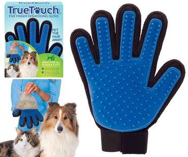 Перчатка для вычесывания шерсти кошек и собак . Отличное качество