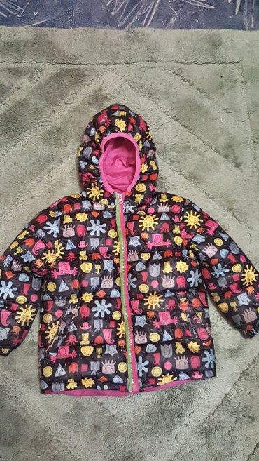 куртка на весну осень . на 4 года. состояние отличное.  яркая красивая в Бишкек
