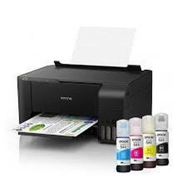 All-In-One (МФУ) EPSON L3110 4x-color (A4,print-copy-scan) 33/15ppm, 5