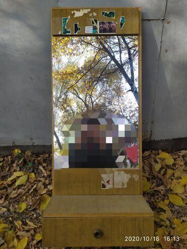 панели для стен пластиковые в Кыргызстан: Продаю комод, туалетный столик с зеркаломС одним выдвижным ящиком