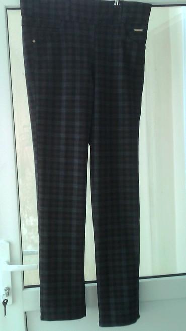 женские брюки кюлоты в Азербайджан: Продам женские брюки в клетку,34 размера рост 1.64