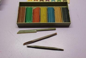 131 объявлений: Продаю пластилин советский, в настоящем качестве, полный набор, в
