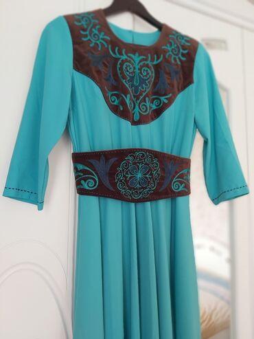 вечернее платье ручной работы в Кыргызстан: Платье, вечернее, ручная дизайнерская работа, размер 48