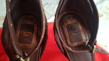 Bunda od cincile - Srbija: Christian Dior Sandale-Original!!!Christian Dior