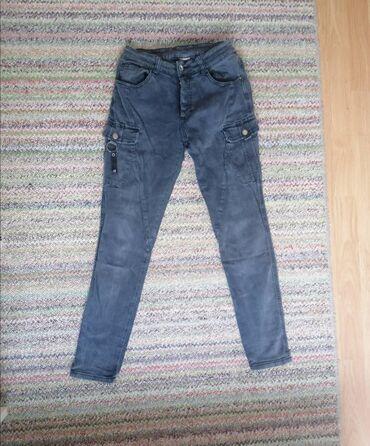 Crne pantalone - Srbija: Ženske pantalone sa džepovima