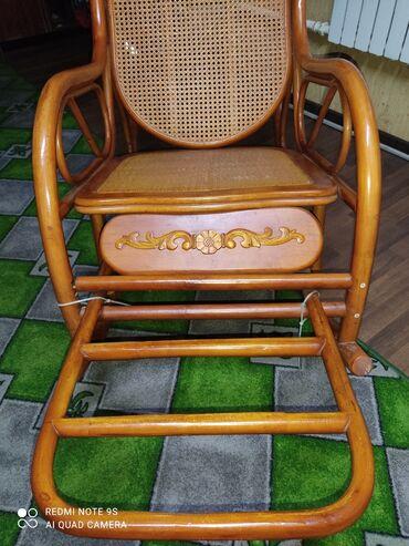 шезлонг качалку в Кыргызстан: Продам кресло качалку 8000