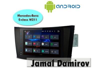 Bakı şəhərində Mercedes Benz E-class W211 üçün Android DVD-monitor.