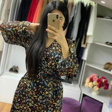 турецкое платье шифон в Кыргызстан: Продаю новое,с этикеткой, турецкое шифоновое платье!Лёгкое,с