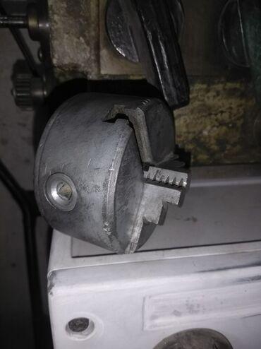 токарные патроны в Кыргызстан: Продаю токарный патрон на 80мм в хорошем состоянии без одного