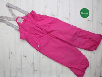 Детский мир - Украина: Детский комбинезон штаны с подтяжками Reima, рост 116 см    Длина обща