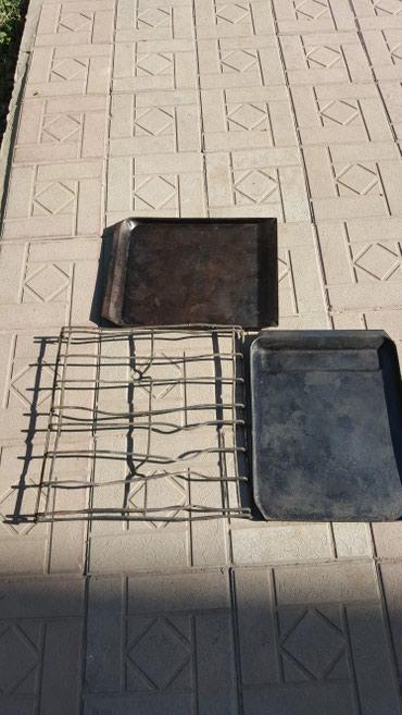 Решетка для газовой плиты -250сом противни(листы) по 200сом каждый в Бишкек