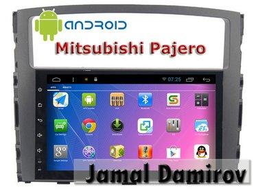 Bakı şəhərində Mitsubishi pajero üçün android dvd-monitor. Android