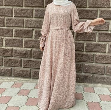 Женская одежда - Кыргызстан: Платье на весну-лето Ткань прада Размер: 42,44,46,48 Есть и другие рас