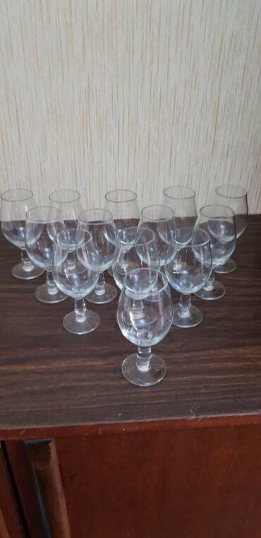 фужеры стекло в Кыргызстан: Продаются фужеры; Адрес: 11 микрорайон