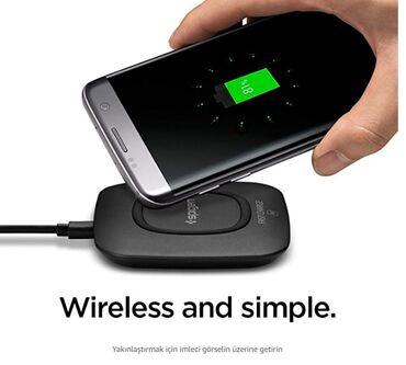 зарядка usb в Азербайджан: Telefonu üstune qoymaqla simsiz enerji yükleyir 2-USB port girişi