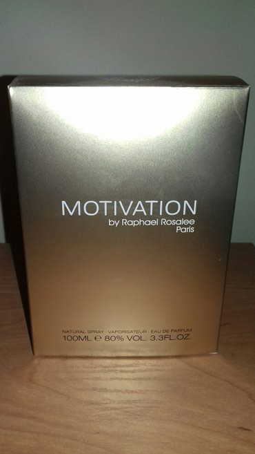 SNIZENO Parfem 100ml, Raphael Rosalee Motivation, zenski, potpuno nov. - Belgrade