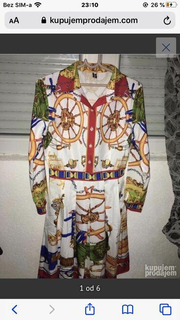 Haljina  Nova  Samo jednom obučena za slikanje  S veličina