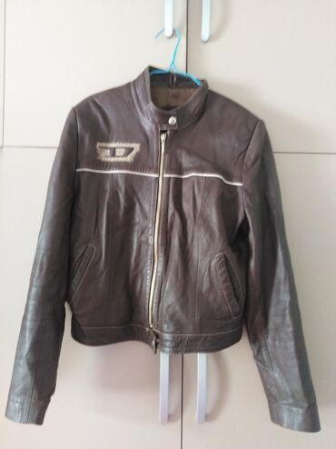 Ženska odeća   Sopot: Turska kozna jakna, na njoj pise xxl ali pogledajte mere! Duzina od vr