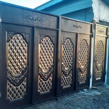 Ремонт и строительство - Кыргызстан: Ворота | Распашные | Металлические | Установка, Бесплатный выезд, Бесплатная доставка
