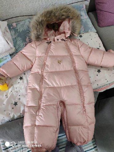 резиновый комбинезон детский в Кыргызстан: Продаю девочковый зимний, теплый комбинезон. Очень красивый цвет